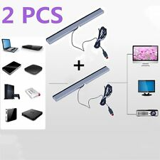2XBest New Wired Infrared Ray Sensor Bar for Nintendo Wii Remote Controller LN