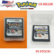 Pokemon Platinum US Version Game Card FOR Nintendo 3DS NDSI NDS NDSL USA Stock