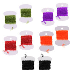 Tinsel Chenille, DIY Fly Tying, Jig, Lure Making, Fishing Crystal Flash Line
