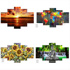 1/3/4/5 Art Abstract Painting Canvas Picture Print Wall Hangings Decor NO frame