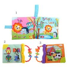 Baby Animal Cloth Book Infant Kids Intelligence Development Toy Cognize Book