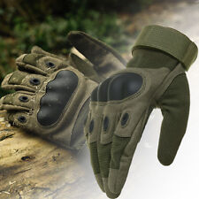 Men Tactical Gloves Hard Knuckle Motorcycle Cycling Sports Bike Military Army US