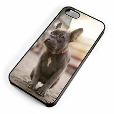 French Bulldog Hipster Cool Quirky Cute Dog For iPhone Range Hard Cover Case