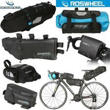 ROSWHEEL Cycling MTB Bicycle Frame Bag Handlebar Bag Tube Bag Tail Seat Bag Z3I3