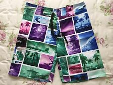 NWT CASUAL MEN'S SURF BOARDSHORTS SWIM TRUNKS HIGH QUALITY SIZE 30 32 34 36 38