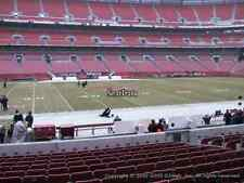 CLEVELAND BROWNS TICKETS BENGALS 10/1 SEC 107 only 7 rows from the field!