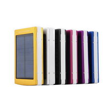 50000mAh Solar Power Bank Battery Charger Dual USB For Mobile Phone PDA MP3 LN