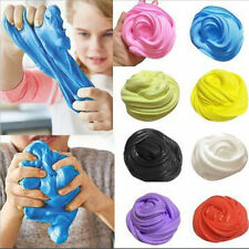 1 PC 60ml Fluffy Floam Slime Scented Stress Relief No Borax Kids Sludge Toy Gift