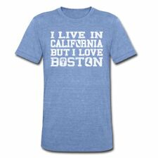 Live California Love Boston Apparel Unisex Tri-Blend T-Shirt by American Apparel