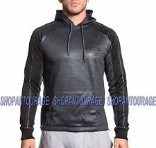 AMERICAN FIGHTER Intensity 331KN031 New Men`s Black Pullover hoodie Affliction