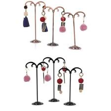 3Pcs Jewelry Tree Stand Display Organizer Holders Earrings Necklace Holder