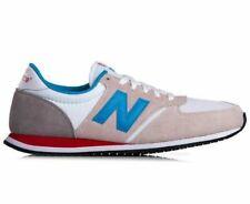 New Balance 420 Sneakers (White/Light Blue/Red)
