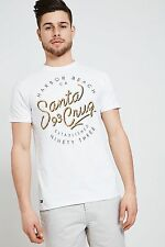 Threadbare Mens T-Shirt Short Sleeves Crew Neck and Machine Wash from Cotton
