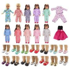Stylish Clothes Bowknot Shoes for 18'' American Girl Our Generation My Life Doll