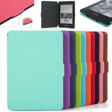 Slim Smart Magnetic PU Leather Stand Case Cover for Amazon Kindle Kindle 899