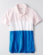 NWT American Eagle Outfitters STRIPE PIQUE POLO MENS BRAND NEW AUTHENTIC