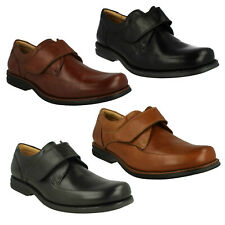 TAPAJOS MENS ANATOMIC & CO FORMAL CASUAL BLACK BROWN SOFT LEATHER RIPTAPE SHOES