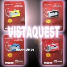 SuperHeadz VistaQuest VQ1015 Entry Keychain 1.3MP Mini Digital Camera - 3 Colors