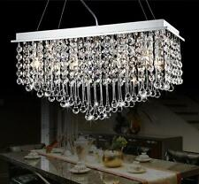 NEW Modern K9 Clear Crystal Ceiling Light Pendant Lamp Chandelier Lighting #4033