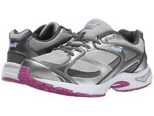 Avia AVI  EXECUTE A5121WVSU.W Womens Grey Orchid Athletic Lace Up Sneakers Shoes