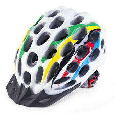 NEW- Bicycle Cycling Bike Carbon EPS Safety Helmet Visor Adjustable Removable