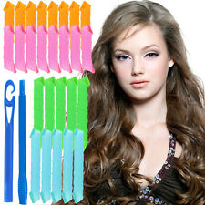 Magic Circle Hair Rollers Curler Sets Mix Size Twist Spiral Styling DIY Tool US