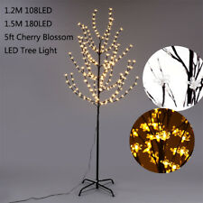 2pcs 5FT LED Tree Light Warm White Wedding Christmas Xmas Indoor Outdoor Party