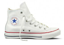 CONVERSE CT 132169C HI LEATHER -  WHITE UNISEX TRAINERS