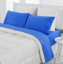 NEW Midnight Dreamaker Easy Care Plain Dyed Sheet Set