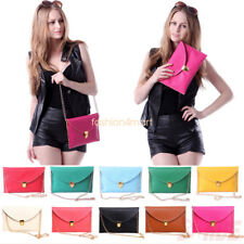 Womens Ladies Envelope Clutch Chain Purse Handbag Tote Shoulder Handbag Hand Bag