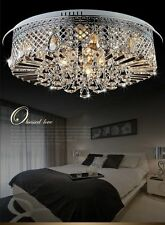 New Modern K9 Clear Crystal Ceiling Light Pendant Lamp Chandelier Lighting #1268