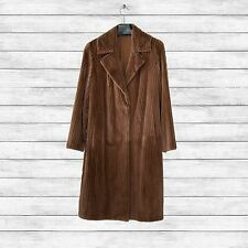 Furs2Love™ 1313 - *Whiskey Dyed Sheared Grooved Mink 7/8 Coat*