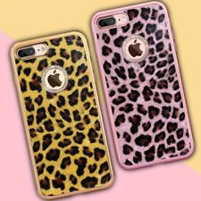 iPhone 7 Phone Cases, 6, 6s Plus, SE Leopard Grain Soft Silicone Cover
