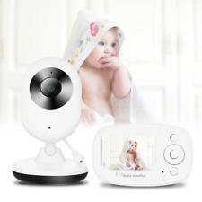 Wireless 2.4Ghz Baby Monitor Camera Night Vision Audio Video IR LED Monitor