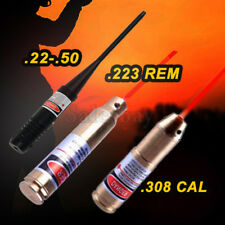 .22-.50 .308 .223 Laser Bore Sighter Hunting Cartridge Red Dot Sight Rifle