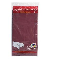 Party Dimensions Single Count Rectangular Plastic Tablecover, 54 by 108-Inch,
