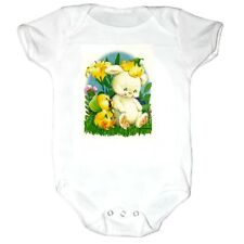 Infant creeper bodysuit romper t-shirt Bunny Rabbit Baby Chick Duck (k-265)