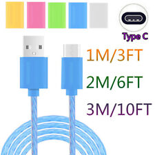 1-3M Reversible Type-C USB-C Data Charger Cable For Samsung Galaxy S8 / S8 Plus