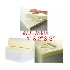 """100 % Memory Foam Mattress Topper Available in 1"""" & 2"""" with free delivery"""