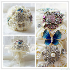 Artificial Wedding Bouquets For Brides Bridesmaid Hand Holding Flowers Beautiful
