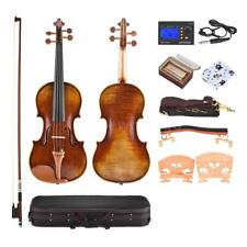 4/4 Full Size Violin+Care Kit Gift+Free Ship Antonio Stradivari 1716 Style B2J0