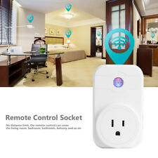 AC110-240V Wireless Wifi Switch Timer Socket Outlet Cell Phone Remote Control BT