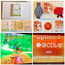 Nintendo Wii Fit Balance Board with Wii Fit or Wii Active PT Game - Exercise