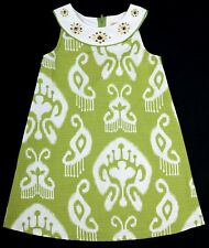 NWT Girls Gymboree Green Gem Batik Print Dress Sizes 3 4 8 Available Cute!