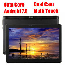 """New 10"""" inch Tablet PC Android 7.0 Octa core Pad 16GB Dual Camera 3G Phone Call"""