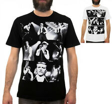 Glam Rock CONCERT PERFORMANCE COLLAGE / Mens, Black, White, T-Shirt