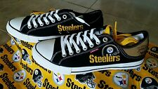Pittsburgh Steelers LEVIS Canvas Men's Sneakers