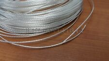 pp009 N-0.3 OCC Silver Plated Teflon 1.2mm Wire diy earphone audio cable 20Awg