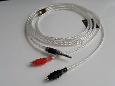 Occ Silver Plated Upgrade Cable For sennheiser HD545 HD565 HD650 HD600 HD580