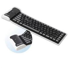 For AT&T PHONES - SLIM MINI FLEXIBLE ROLL-UP WIRELESS BLUETOOTH KEYBOARD